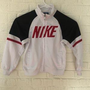 Nike boys zip up warmup jacket